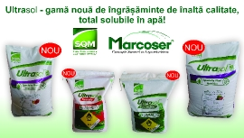 Marcoser - Importator SQM in Romania  | Ultrasol - ingrasamant de inalta calitate, total solubil in apa
