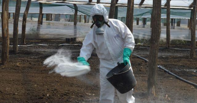 Echipament de protectie dezinfectie