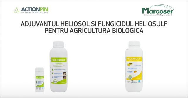 Produsele organice Heliosulf si Heliosol