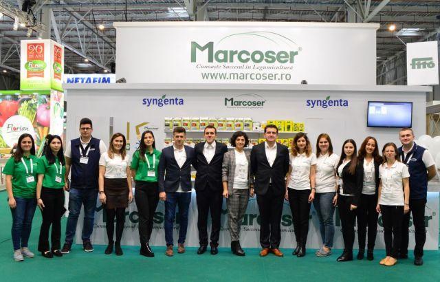 Echipa Marcoser prezenta la Indagra 2019