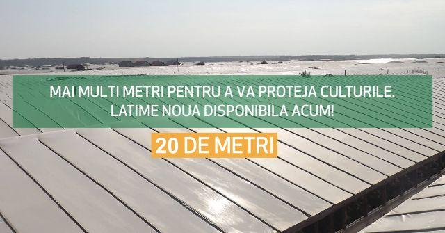 Folie de acoperire solar de 20 metri latime