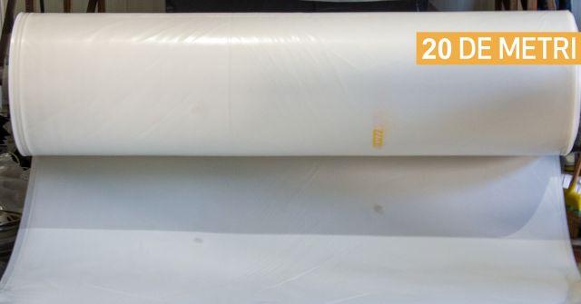Folie de acoperire solar de 20 metri latime - rola
